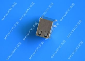 DIP Foot 4 Pin AF Type Double USB Charging Connector Female For PCB