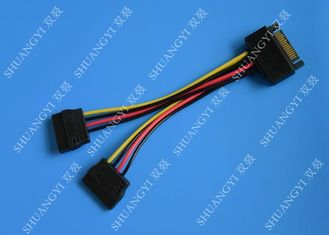 China SATA To Dual SATA Data Cable Splitter SSD HDD SATA Cable For Hard Drive supplier