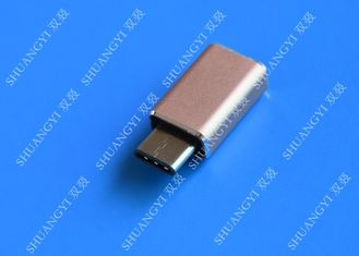 Laptop High Speed Mini Micro USB C to USB 3.0 Smart Aluminum Rose Gold