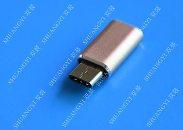 Gray Camera Type C Micro USB , SATA Sync Charge OTG Micro USB 23mm x 10mm x 5mm
