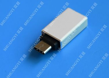 Type C Male to USB 3.0 A Female Apple Micro USB White With Nickel Plated Connector