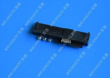 29P SFF 8482 SAS Serial Attached SCSI Connector DIP SMT Solder Crimp Type For Computer