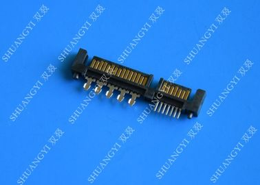 Male SFF 8482 Serial Attached SCSI SAS Connector 29 Position LCP Insulator