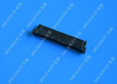 7 Circuits SFF 8482 SAS Hard Drive Connector For Laptop Rated Voltage 40V AC