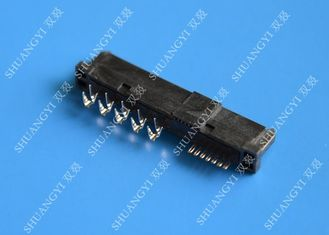 22 Pin Female SATA Data Connector SMT and Reverse Type 1.5A Current Rating