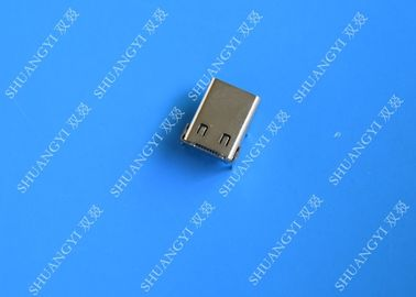 Female USB 3.1 Type C USB Connector SMT DIP 24 Pin For Cell Phone