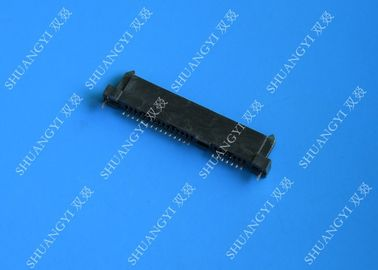 China Black PCB Wire To Board Connectors , 22 Pin Jst Crimp Type Connector supplier