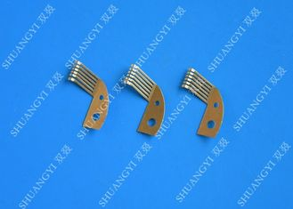 China Custom Battery Electrical Crimp Terminals Lug Type Copper High Precision supplier