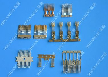 China Low Breaking Capacity Wire Crimp Terminals , Electrical PCB Automotive Fuse Box Terminals supplier