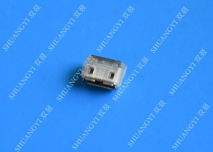 IP68 Steel Micro Tablet USB Connector B Ejector Type Gold Flash Contact